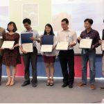 """Ms Hồng Trang EDUBELIFE – thành viên giám khảo cuộc thi """"Vietnam Challenge for Our Environment""""  do Đại Sứ quán Mỹ tổ chức"""