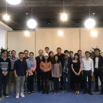 Ms Hồng Trang – với tư cách Mentor – tham dự lễ trao bằng tốt nghiệp cho các Start up Batch 6 tại SVF.