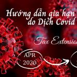 Hướng dẫn gia hạn nộp thuế do dịch Covid-19