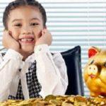 Dạy con kiếm tiền từ bé